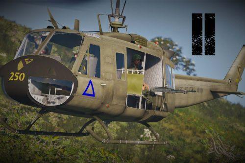 Vietnam war Huey skin pack II