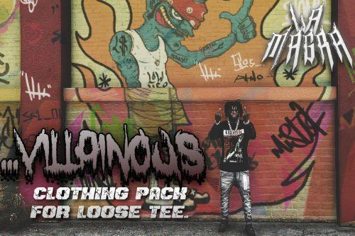 ...Villainous Clothing Pack for Loose Tee Model