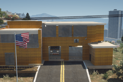 Vinewood Fire Station [Menyoo]