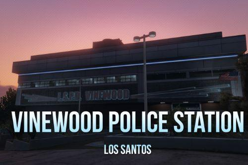 Vinewood Police Station Interior [YMAP/Map Builder]