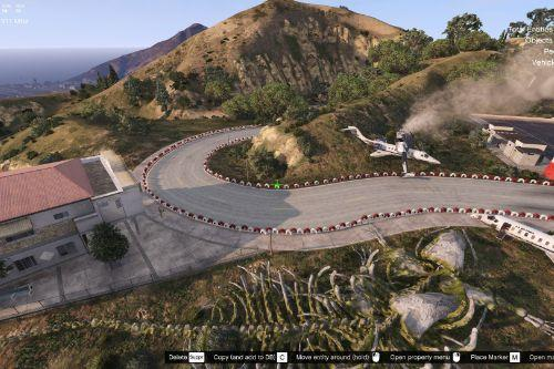 VineWood Racetrack [Menyoo]