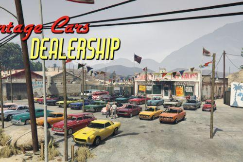 Vintage Cars Dealership + Grand Senora Desert Town