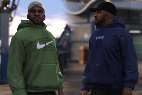 Vintage Nike Fleece Hoodie for Frank/MP Male