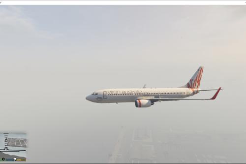 virgin australia boeing 737-800 addon/replace