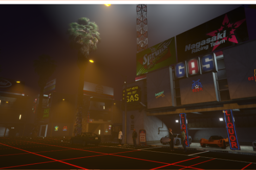 Virtual reality city (menyoo)