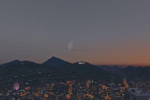 Visible Moon