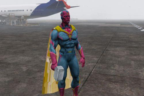 Vision (Avengers Age Of Ultron) (Retexture)