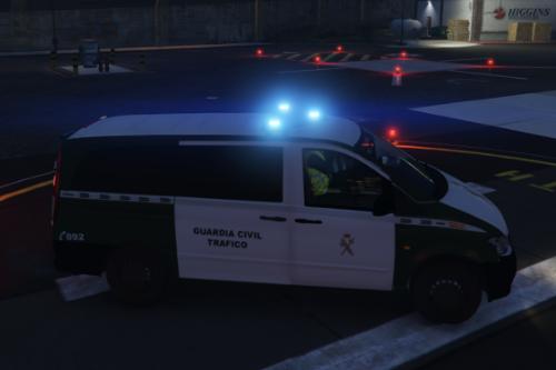 Mercedes Vito Guardia civil trafico