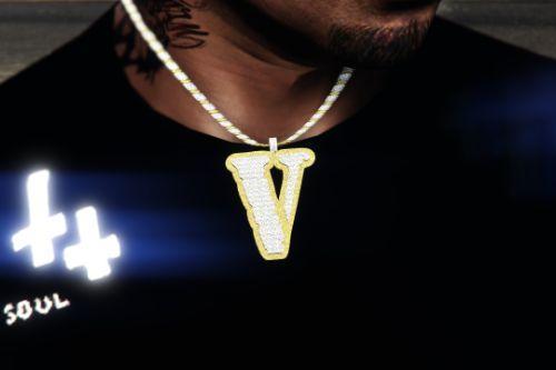 Vlone Chain + Vlone 999 #LLjuiceWrld Shirt