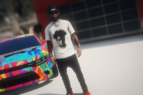 vlone shirts pack for Franklin / MP Male