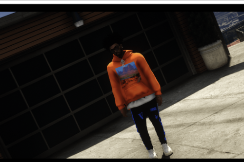 VLONE sagged jeans for MP Male / Franklin