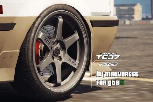 Volk Racing TE37 Rims