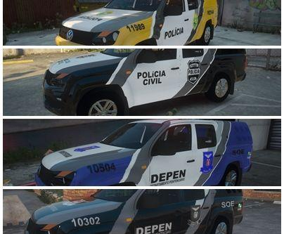 Volkswagen AMAROK 2017 (POLICIA DO PARANA)
