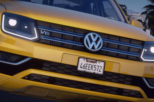 Volkswagen Amarok [Add-On / Replace | FiveM | DEV | Lods]