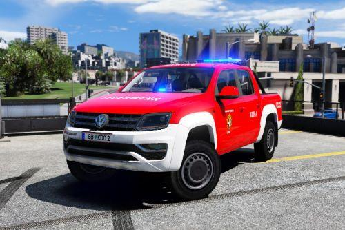 Volkswagen Amarok Austrian Firetruck / KDO Feuerwehr Österreich