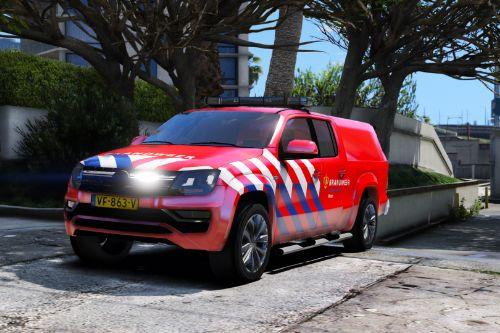 Volkswagen Amarok Brandweer [ELS | Replace] (Dutch / Nederlands)