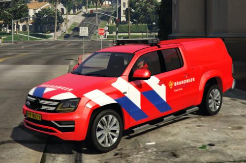 Volkswagen Amarok Brandweer / Fire Fighter [OOV Striping] [Dutch]