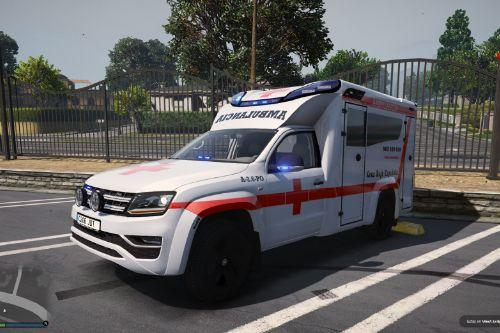 Volkswagen Amarok Cruz Roja Española of Spain/España[FiveM-Replace-ELS]