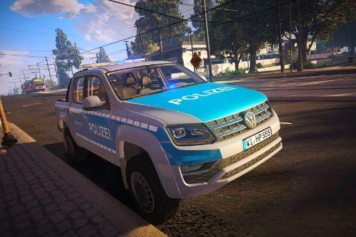 Volkswagen Amarok Facelift - German Police Polizei Livery