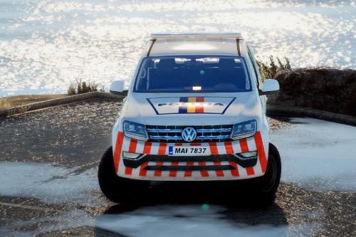 Volkswagen Amarok Politia Romana