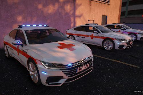 Volkswagen Arteon Cruz Roja Española of Spain/España[FiveM-Replace-ELS]
