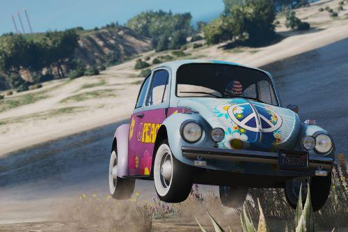 1974 Volkswagen Beetle [Add-On | LODs | Extras | Template]
