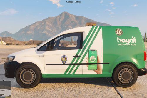 Volkswagen Caddy Çevre Doğa Ve Hayvanları Koruma Polisi