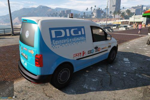 Volkswagen Caddy Hungarian DigiTV