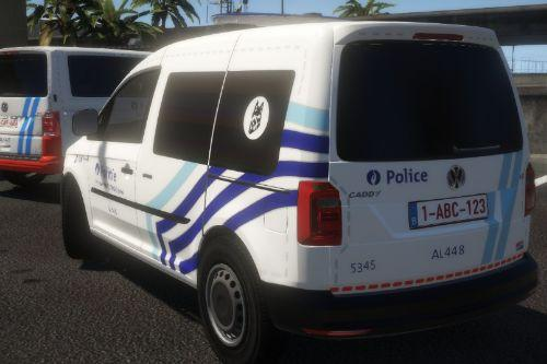 Volkswagen Caddy Maxi Police I ELS I K9 Belgian / België