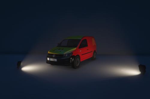 Volkswagen Caddy - McDonald's [Reskin]