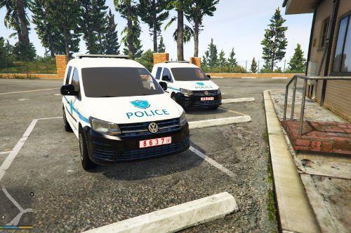 volkswagen caddy | palestine Police |  الشرطة