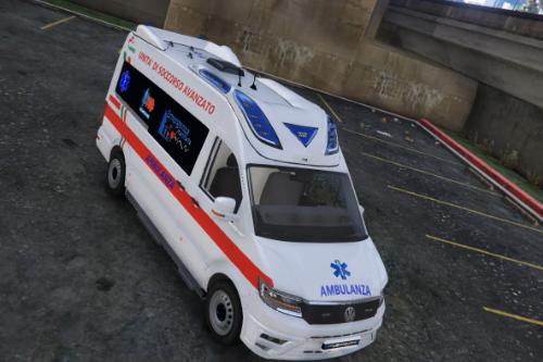 Volkswagen Crafter Ambulanza 118