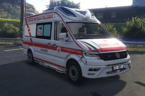 Volkswagen Crafter Ambulanza Croce Rossa Italiana