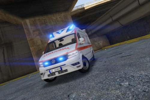 Volkswagen Crafter - Ambulanza -Croce Rossa - (Replace)