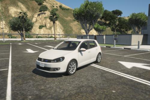 Dutch Volkswagen Golf 5 Unmarked [Replace / ELS]