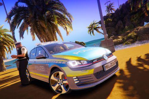 Volkswagen Golf GTI - Autobahnpolizei Mecklenburg-Vorpommern \\ German Police [PAINTJOB]