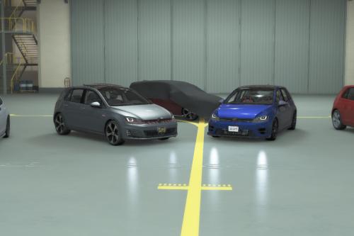 Volkswagen Golf GTI MK7 2015 [Add-On | Tuning | Wipers]