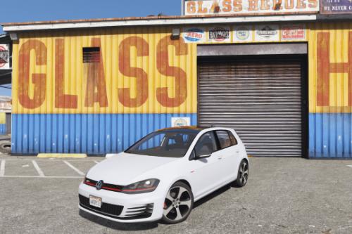 Volkswagen Golf GTI MK7 2015 [Add-On / Replace]