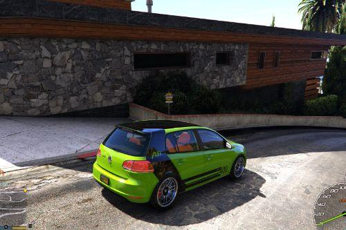 Volkswagen Golf Mk 6 - 3 Liveries Pack
