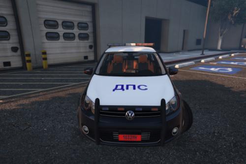"""Volkswagen Golf Mk6 Belarusian Police """"DPS"""""""