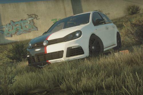 Volkswagen golf mk6 [Livery] black/white