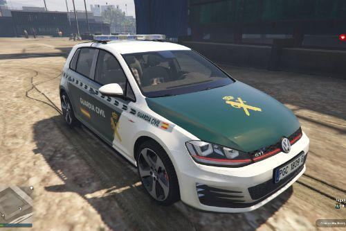 Volkswagen Golf MK7 Guardia Civil of Spain/España.