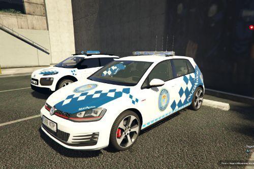 Volkswagen Golf MK7 Policia Local Galicia O Porriño of Spain/España