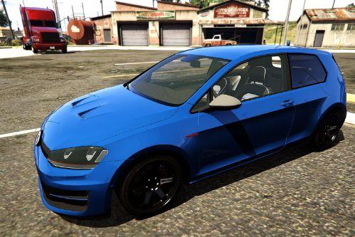 Volkswagen Golf MK7 R 2015 [Add-On | LODs]
