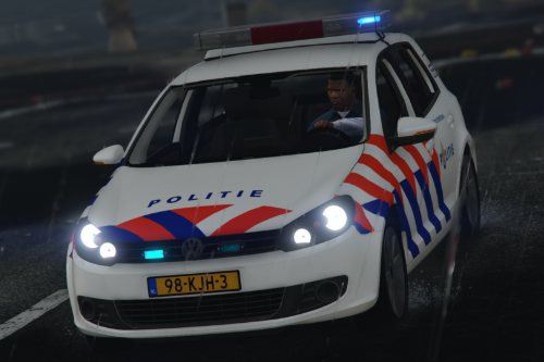 Volkswagen Golf - Nederlands Politie Wagentje [Replace]