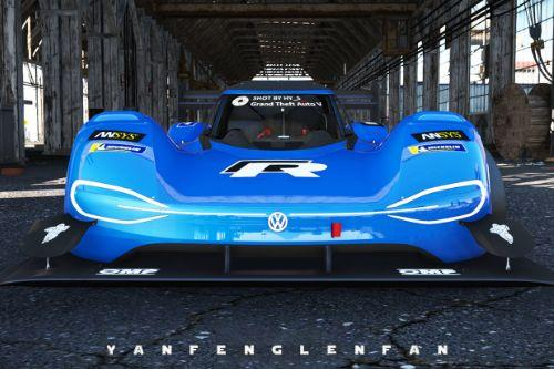 Volkswagen I.D.R PIKES PEAK 2018 [Add-On l Template]