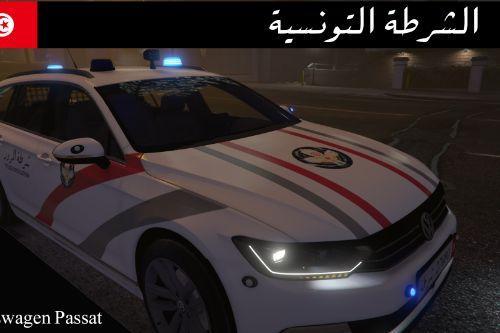 Volkswagen Passat 2015 Tunisian Police retexture