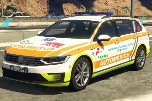 Volkswagen Passat - Automedica 118 ANPAS (SAVONA soccorso)