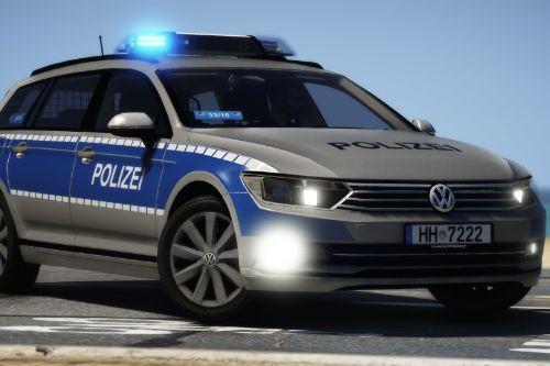 Volkswagen Passat B8 Polizei Hamburg [ELS | Reflective]