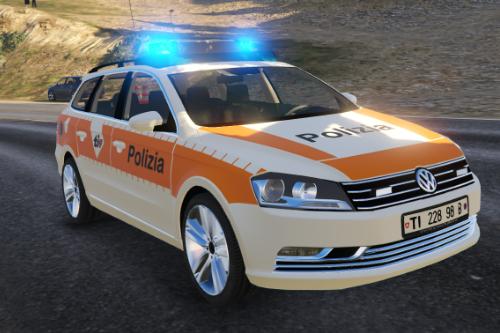 VolksWagen Passat Polizia Cantonale Ticino- Svizzera-